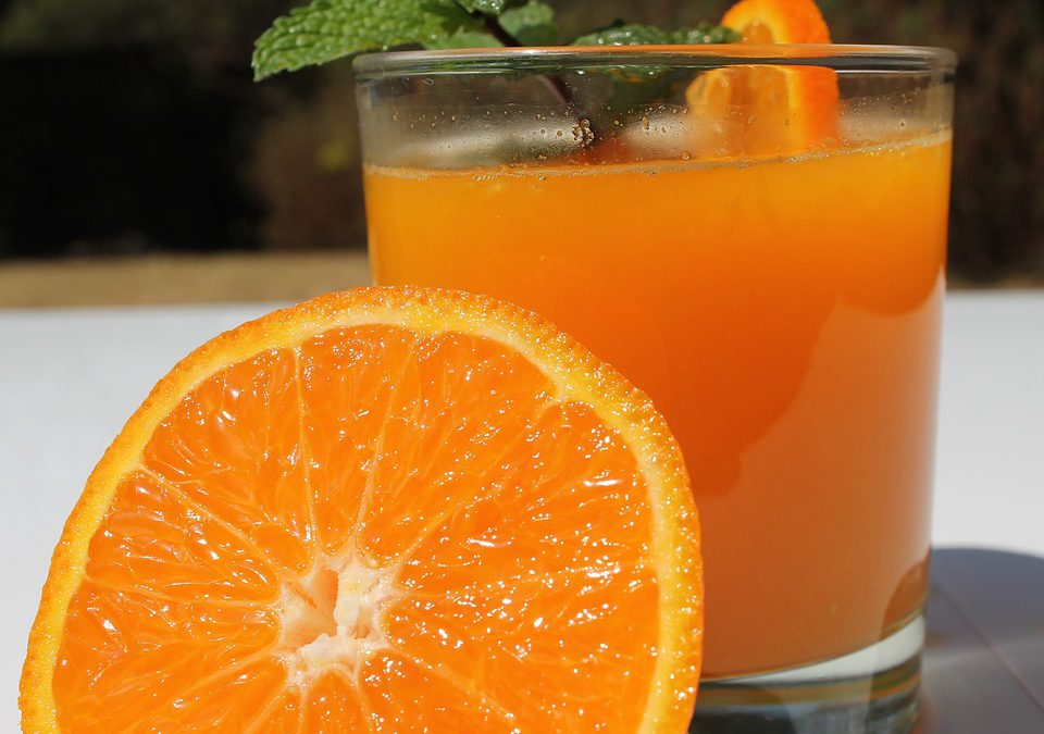 Naranja, fruta de la alegría