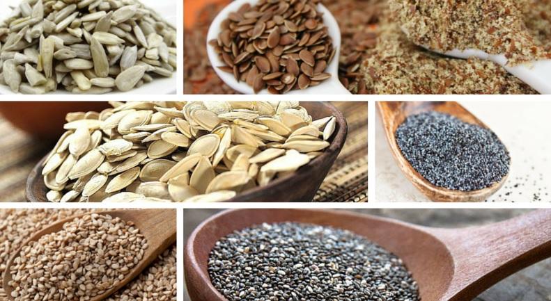 Semillas: Sus propiedades y cómo incorporarlas a los platos.