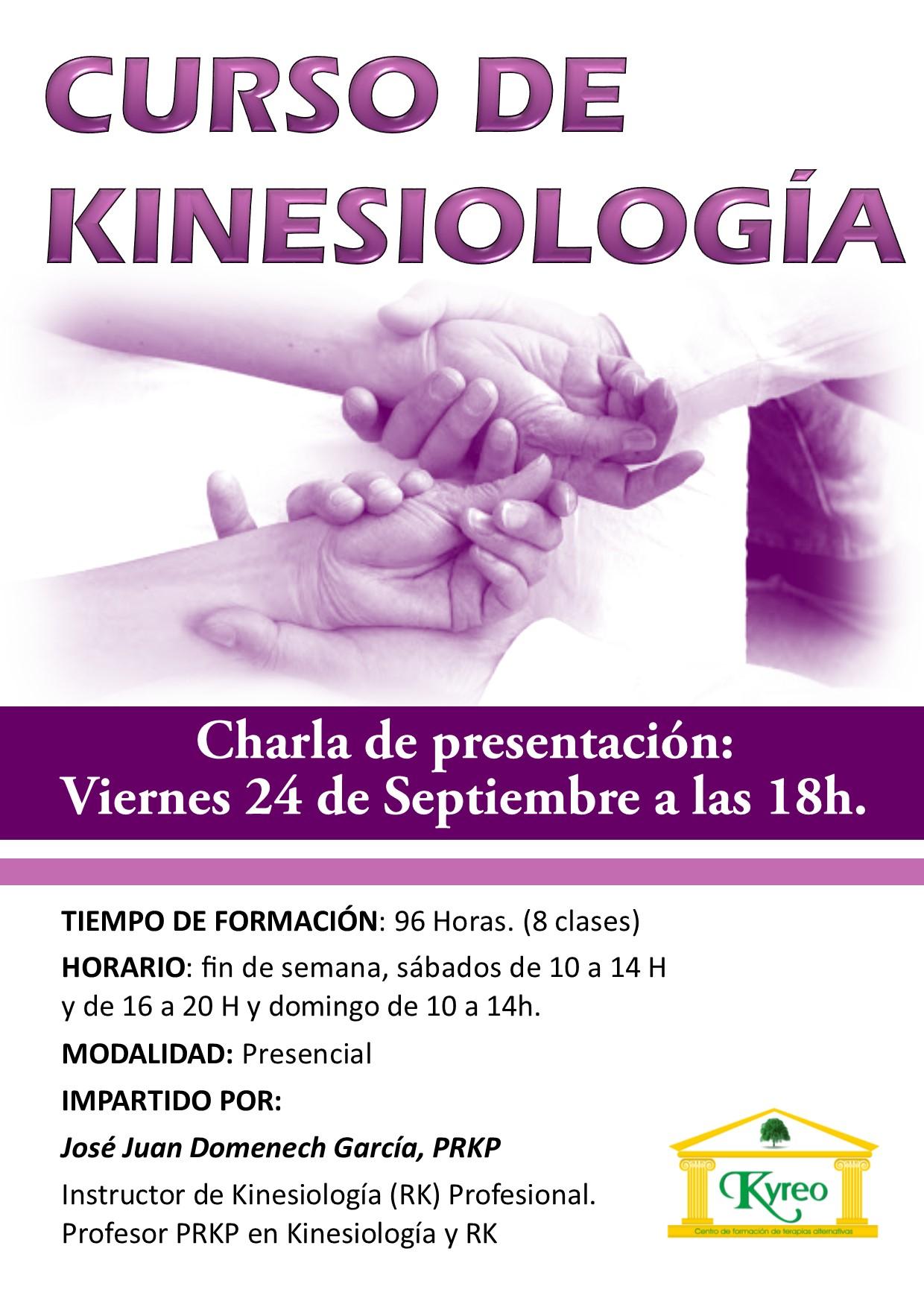 Charla Presentación curso de Kinesiología